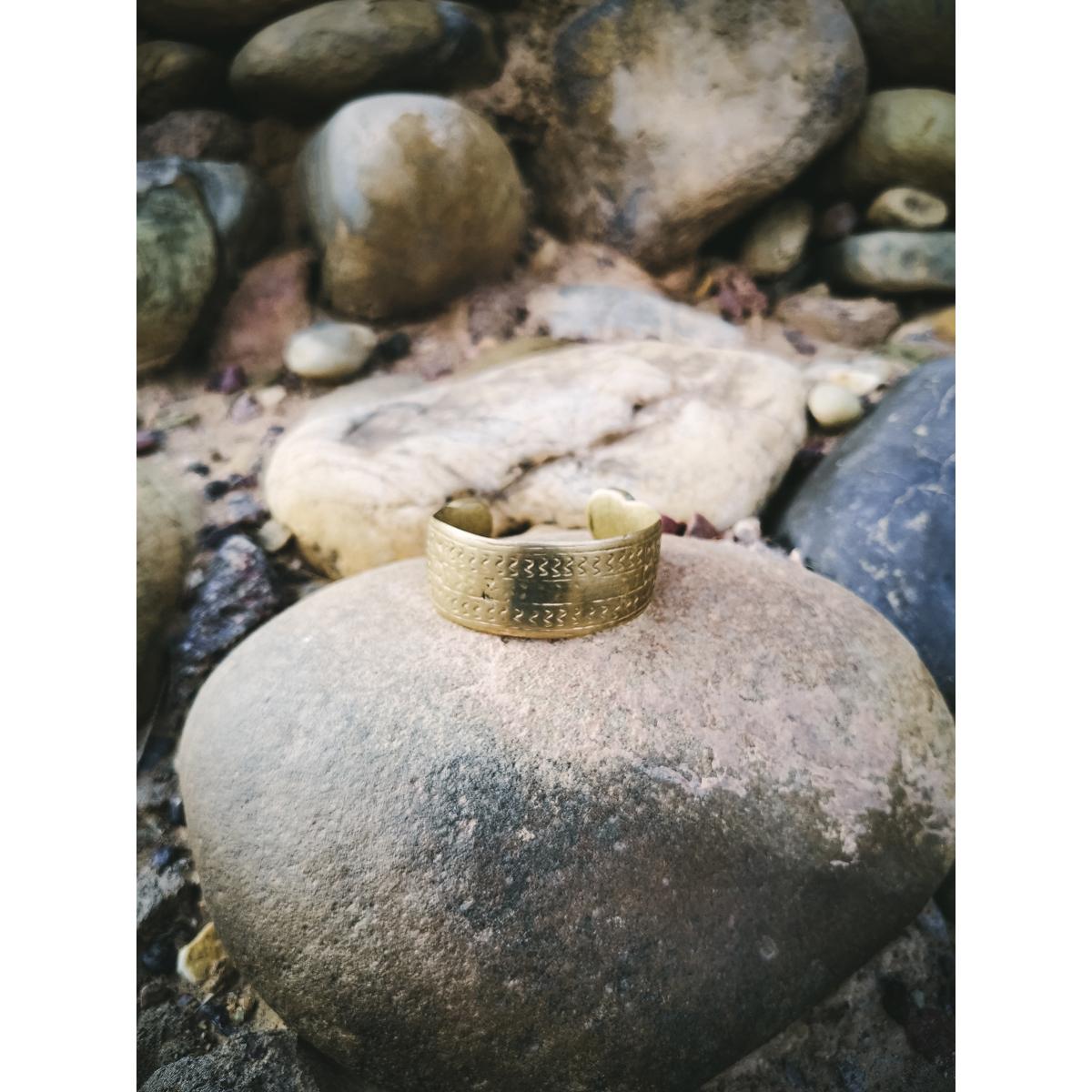 Vintage Berber Brass Bracelet