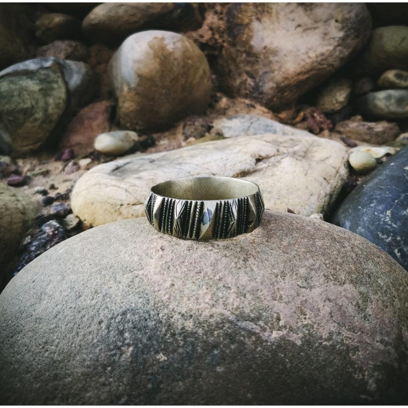 Vintage Silver Berber Bracelet