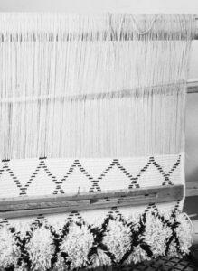 Making moroccan berber rug